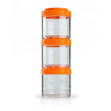 Контейнер спортивный BlenderBottle GoStak 3 Pak Orange (ORIGINAL)