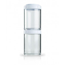 Контейнер спортивный BlenderBottle GoStak 2 Pak White (ORIGINAL)