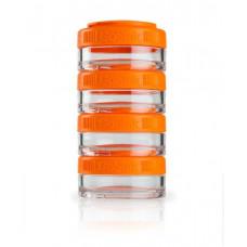 Контейнер спортивный BlenderBottle GoStak 4*40ml Orange (ORIGINAL)