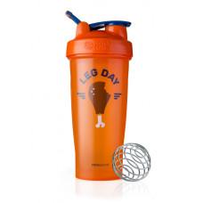 Спортивный шейкер BlenderBottle Classic Loop 820ml Special Edition Leg Day Orange (ORIGINAL)