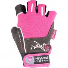 Перчатки для фитнеса и тяжелой атлетики Power System Woman's Power PS-2570 S Pink