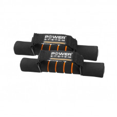 Гантели для фитнеса и аэробики в неопрене Power System Fitness Dumbells 1 kg PS-4010 ( 2шт )