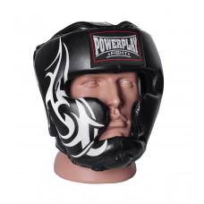 Боксерский шлем тренировочный PowerPlay 3043 Черный XL