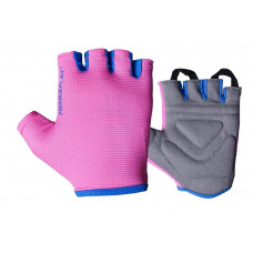Фитнес перчатки PowerPlay 3418 женские Розовые S