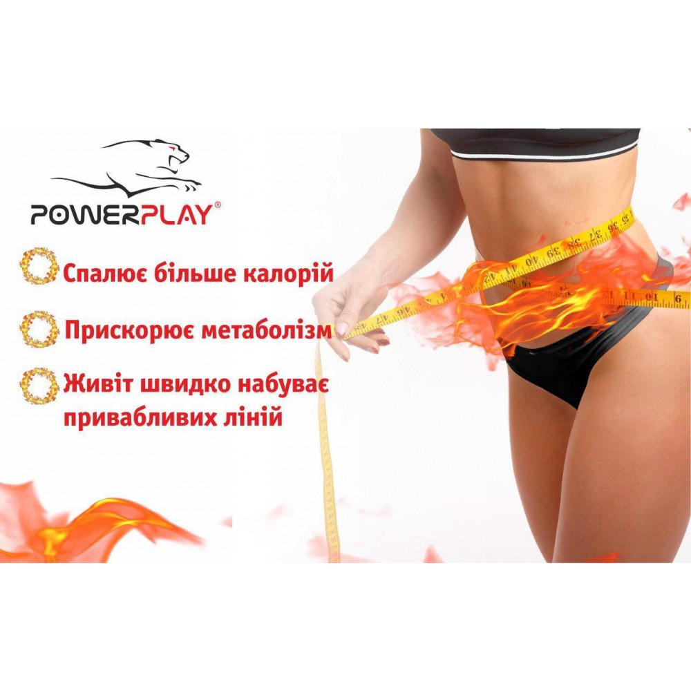 Пояс для похудения PowerPlay 4301 (150*30) Черный
