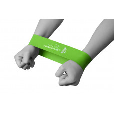 Фитнес резинка PowerPlay 4114 Medium Зеленая