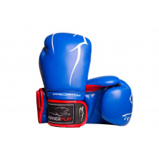 Боксерские перчатки PowerPlay 3018 14 унций Синие