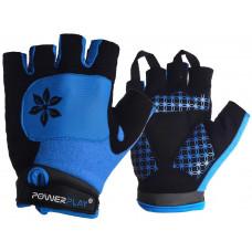 Велорукавиці PowerPlay 5284 D Блакитні M