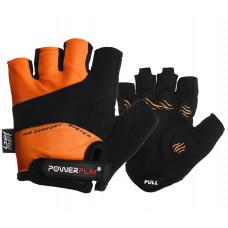 Велоперчатки PowerPlay 5013 A Оранжевые M