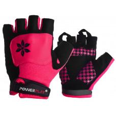 Велорукавиці PowerPlay 5284 C Рожеві XS