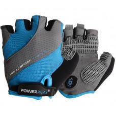 Велорукавиці PowerPlay 5023 Блакитні XS