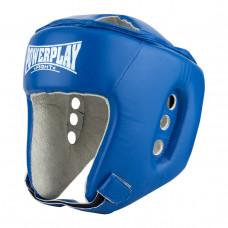 Боксерский шлем тренировочный PowerPlay 3084 синий S