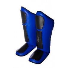 Защита голени и стопы PowerPlay 3032 Черно-Синий XL