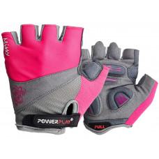Велорукавиці PowerPlay 5277 Рожеві XS
