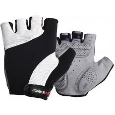 Велоперчатки PowerPlay 5041 Черно-белые L