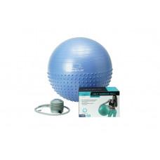 М'яч для фітнеса і гімнастики PowerPlay 4003 65см lilac