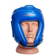 Боксерский шлем турнирный PowerPlay 3045 Синий L