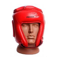 Боксерский шлем турнирный PowerPlay 3045 Красный XL