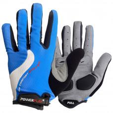 Велоперчатки PowerPlay 6554 A Синие M