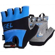 Велоперчатки PowerPlay 1058 Синие M