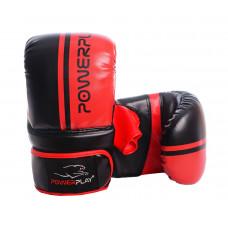 Снарядные перчатки PowerPlay 3025 Черно-Красные XL