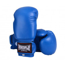 Боксерские перчатки PowerPlay 3004 Синие 18 унций
