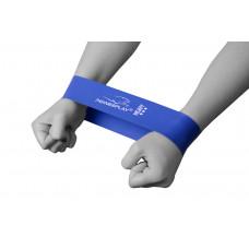 Фитнес резинка PowerPlay 4114 Heavy Синяя
