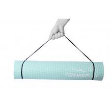 Коврик для фитнеса и йоги PowerPlay 4010 (173*61* 0.6) Мятный