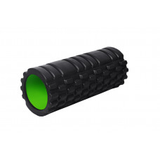 Масажний ролик PowerPlay 4025 Чорно-Зелений