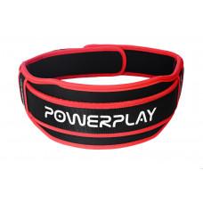 Пояс для тяжелой атлетики PowerPlay 5545 Черно-Красный (Неопрен) L