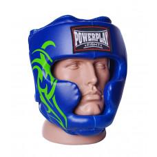 Боксерский шлем тренировочный PowerPlay 3043 Синий XL