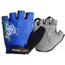 Велоперчатки PowerPlay 002 D Синие L