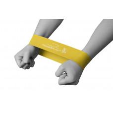 Фитнес резинка PowerPlay 4114 Light Желтая