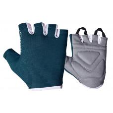Фитнес перчатки PowerPlay 3418 женские Синие XS