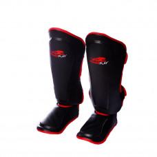 Защита голени и стопы PowerPlay 3034 черно-красная S