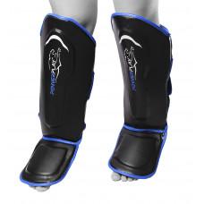 Защита голени и стопы PowerPlay 3052 Черно-Синий S