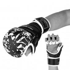 Перчатки для Karate PowerPlay 3092KRT Черные-Белые S