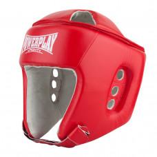 Боксерский шлем тренировочный PowerPlay 3084 красный L