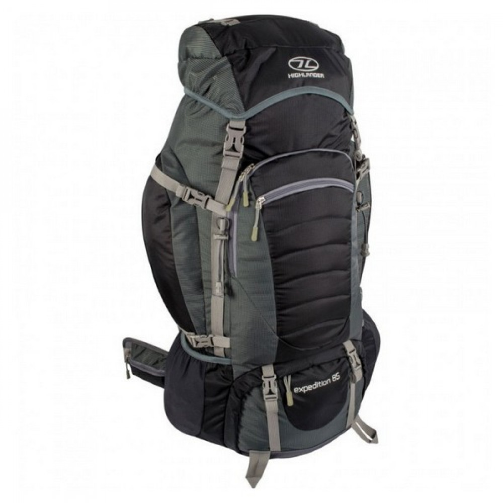 Рюкзак туристичний Highlander Expedition 85 Black