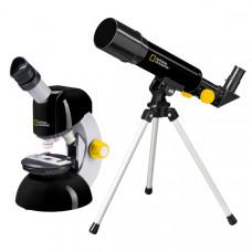 Мікроскоп National Geographic Junior 40x-640x + Телескоп 50/360 (Base)