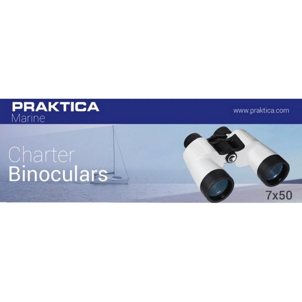 Бинокль Praktica Marine Charter 7x50 White